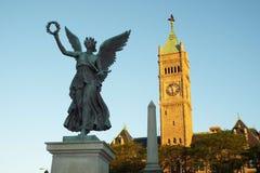 Lowell Massachusetts historique Photographie stock libre de droits