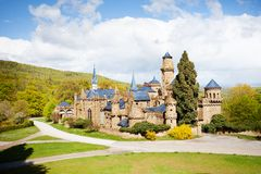 Lowenburg or Lion castle view in the Bergpark Royalty Free Stock Image