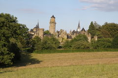 Lowenburg-Schloss Stockfotos