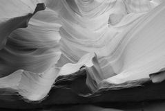 In Lower Antelope Canyon Stock Image