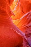 Lower Antelope Canyon Abstract Stock Photo