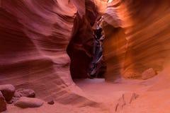 Lower Antelope canyon Royalty Free Stock Image