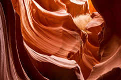 Lower Antelope Canyon Detail Royalty Free Stock Photo