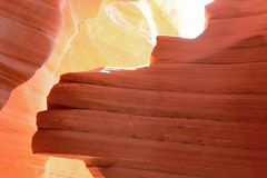 Lower Antelope Canyon. Page, Arizona Stock Photo