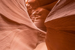 Lower Antelope Canyon. The Lower Antelope Canyon, USA Stock Photography