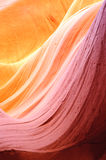 Lower antelope slot canyon Stock Images