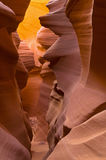 Lower Antelope Slot Canyon Royalty Free Stock Photo
