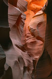 Lower Antelope Slot Canyon. Aglow with reflected sunlight, Arizona, USA Royalty Free Stock Photography