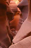 Lower Antelope Slot Canyon Royalty Free Stock Image