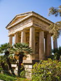 Lower Baracca Gardens, Valletta Stock Image