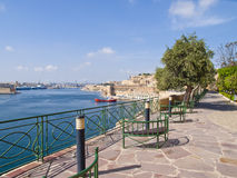 Lower Baracca Gardens, Valletta Royalty Free Stock Image