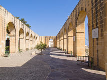 Lower Baracca Gardens, Valletta, Malta, Europe. Lower Baracca Gardens, Valletta, Malta Stock Photography