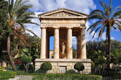 Lower Barracca gardens in Valletta Stock Photography