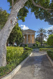 Lower Barrakka Gardens. A scene from the Lower Barakka Gardens in Valletta, Malta Stock Images