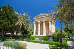 Lower Barrakka Gardens, Malta. Lower Barrakka Gardens in Malta Royalty Free Stock Image