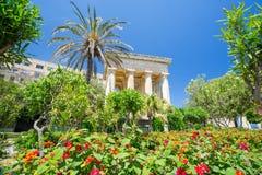 Lower Barrakka Gardens, Malta Royalty Free Stock Image