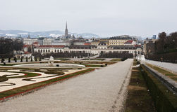 The Lower Belvedere Stock Image