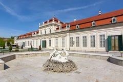 Lower Belvedere palace, Vienna, Austria royalty free stock photos