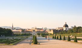 Lower Belvedere Palace. Vienna. Austria Stock Images