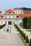 Lower Belvedere Palace, Vienna, Austria Stock Photography