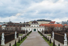Lower Belvedere palace, Vienna Stock Images