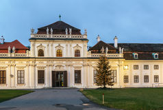 Lower Belvedere palace, Vienna Royalty Free Stock Photos