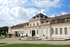 Lower Belvedere in Vienna, Austria Royalty Free Stock Photography