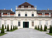 The Lower Belvedere, Vienna, Austria Stock Image