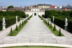 The Lower Belvedere, Vienna, Austria Stock Photo