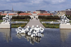 Lower Belvedere Palace - Vienna - Austria Stock Image