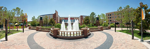 Lower Bricktown Stock Image