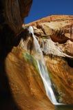 Lower Calf Creek Falls. Utah Stock Photo