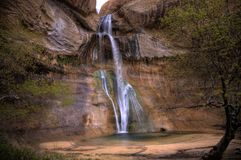 Lower Calf Creek Falls Stock Photos
