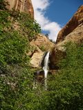 Lower Calf falls Escalante, Utah Stock Photography