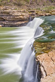 Lower Cataract Falls Plunge Royalty Free Stock Images