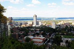 Lower city of Hamilton, Canada stock images