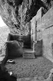 Lower cliff dwelling at Tonto National Monument Royalty Free Stock Photos