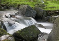 Lower Cwm Bychan stream Royalty Free Stock Photography
