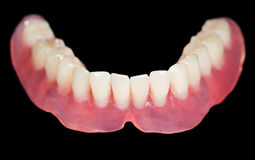 Lower denture Stock Photos