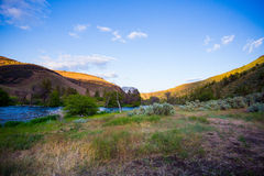 Lower Deschutes River Oregon Royalty Free Stock Photo