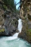 Lower Fall. In Banff National Park Alberta Canada Stock Photo