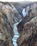 Lower Falls Stock Image