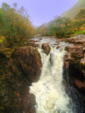 Lower Falls. Glen Nevis, Scotland Royalty Free Stock Images