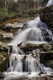 Lower Falls of Apple Orchard Falls - 2. Lower Falls of Apple Orchard Falls located off the Blue Ridge Parkway, Virginia, USA Stock Image