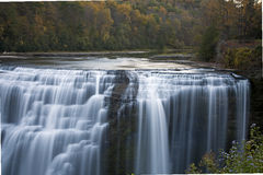 Lower Falls at Letchworth Royalty Free Stock Image