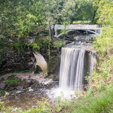 Lower Falls of Minneopa Creek Royalty Free Stock Image