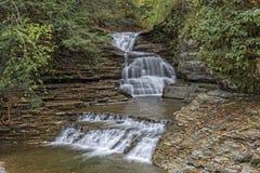 The Lower Falls At Robert H Treman State Park Stock Photos