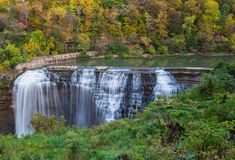 Lower Falls in Rochester N.Y. Lower Falls in Rochester NY stock image