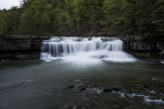 Lower Falls - Waterfall - Taughannock State Park - Ithaca, New York Stock Photo