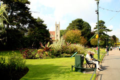 Lower Gardens, Bournemouth. Royalty Free Stock Images